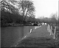 SU4167 : Copse Lock, Kennet and Avon Canal by Dr Neil Clifton