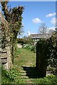 SX3173 : Footpath from the churchyard. by Tony Atkin