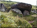 SS0697 : The Kings Quoit , Manorbier Bay by Chris Gunns