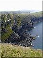 SM8032 : Cliffs by Porth Egr by Chris Gunns