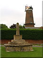 SP7420 : Market Cross and Windmill by Jeff Tomlinson