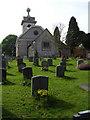 SU8294 : St Lawrence Church West Wycombe by Christina Burford