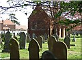 TF3039 : Cemetery, Kirton by Donnylad