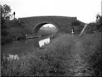 SU1160 : Woodborough Field Bridge from the west, Kennet and Avon Canal by Dr Neil Clifton