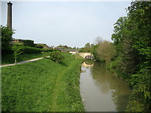 SU0061 : Canal from Park Bridge, Devizes by Chris Heaton