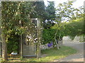 ST4390 : Telephone Box in disguise, Carrow Hill by Ruth Sharville