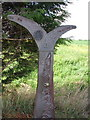 TR0728 : National Cycle Network milepost by D-G-Seamon