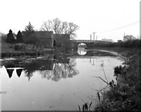 ST8660 : Hilperton Wharf Bridge, Kennet and Avon Canal by Dr Neil Clifton