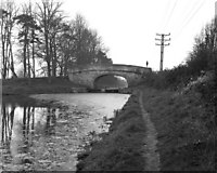 ST8559 : Parsons Bridge, Kennet and Avon Canal, in 1977 by Dr Neil Clifton