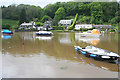SX1357 : Tidal creek at Lerryn by Kate Jewell