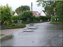 TG3311 : Hemblington Corner by Ian Robertson