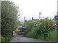 NY6165 : Upper Denton level crossing by Stephen Craven