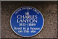 Photo of Charles Lanyon blue plaque