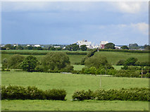 SJ6670 : View from near New Hall Farm by Mike Harris