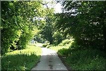 SX3387 : Werrington:  entrance to Werrington estate farms by Martin Bodman