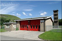 SS9390 : Ogmore Vale Fire Station by Kevin Hale