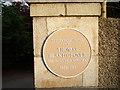 Photo of Thomas Blake Glover brown plaque