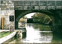 ST8961 : Semington Bridge - No.160 - K&A Canal - 2003 by Maurice Pullin