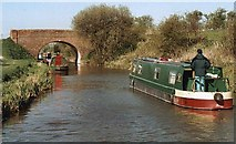 SU0762 : Woodway Bridge - No.128 - K&A Canal nr.All Cannings 2002 by Maurice Pullin