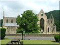 ST5399 : Tintern Abbey - (View from the Abbey Hotel) by Nicholas Mutton