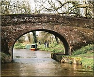 SU1361 : Bowden's Bridge - No.119 - K&A Canal nr.Wilcot - 2004 by Maurice Pullin