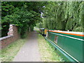 SJ4465 : Towpath, part of the 13mile Baker Way footpath by Brian Green