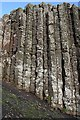 C9444 : Detail of Basalt Columns by Anne Burgess
