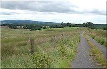 NX2883 : Towards Darnaconnar by Mary and Angus Hogg