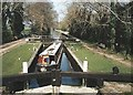SU3668 : Wire Lock - No.76 - Kennet & Avon Canal - 2003 by Maurice Pullin