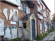 SU2764 : Stonemason's Museum, Great Bedwyn by Trish Steel