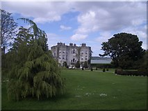 R1247 : Glin Castle from the gardens, with the Shannon beyond by Keith Salvesen