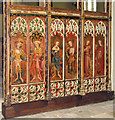 TG3421 : St Michael & All Angels, Barton Turf, Norfolk - Screen by John Salmon