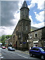 SD9905 : Catholic Church of Sacred Heart and St William, Uppermill by Alexander P Kapp