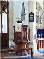 TG3818 : St Catherine, Ludham, Norfolk Pulpit by John Salmon