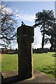 SJ3660 : Sundial in St Mary's Church Yard, Dodleston by Paul Roberts