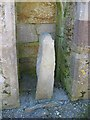 X1877 : Ogham Stone by Paul O'Farrell