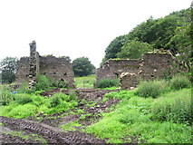 ST2299 : Ruined Farmhouse by Jessica Aidley