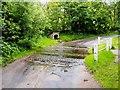 SJ9350 : Ford Near Bagnall by Geoff Pick