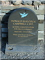 SD3097 : Memorial to Donald Campbell by Nick Barker