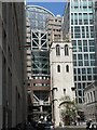 TQ3281 : City parish churches: St. Alban Wood Street (remains of) by Chris Downer
