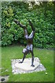 TL4355 : Statue in the grounds of The Old Vicarage, Grantchester by Fractal Angel