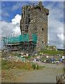W1149 : Castles of Munster: Castledonovan, Cork by Mike Searle