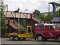 SD7916 : Footbridge by robert wade