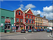 W2352 : Market Square Dunmanway by Mike Searle