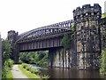 SD9323 : Gauxholme Railway Bridge by Stanley Walker