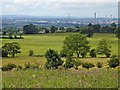 SJ5073 : Alvanley - view from the Sandstone Trail by Mike Harris