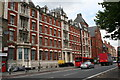 TQ3383 : St Leonard's Hospital, Kingsland Road, London by Dr Neil Clifton