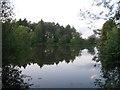 SP6726 : Jubilee Lake, Three Bridge Mill near Twyford by Andy Gryce
