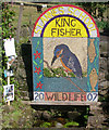 SJ9053 : Wildlife Well dressing 2007 by Neil Lewin