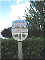 TG2039 : Felbrigg village sign by Zorba the Geek